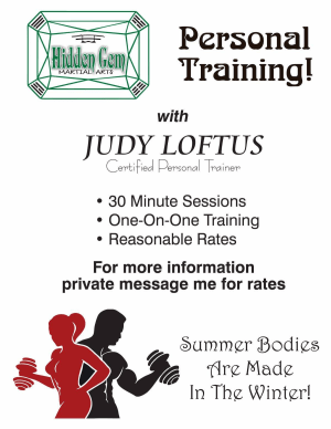 PERSONAL TRAINING BY JUDY LOFTUS