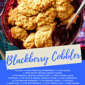 Recipe of the Week: Blackberry Cobbler