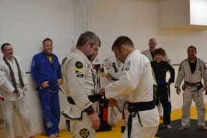 Congratulations to Five Rings' Newest Black Belt - Dan VanDetta!