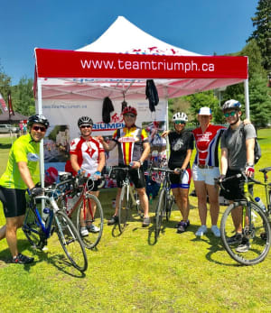 Spectacular Performances by Team Triumph Members at Mont Tremblant Triathlon Weekend