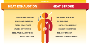 TMA Rules for Training During Summer Heat!