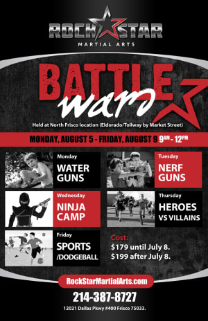 Kids Martial Arts Summer Camps!