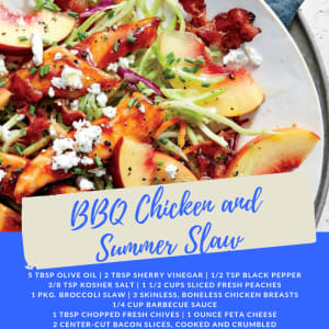 Recipe of the Week: BBQ Chicken and Summer Slaw