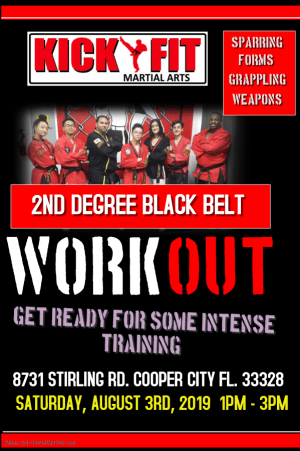 2nd Degree Workout in Cooper City / Davie / Pembroke Pines