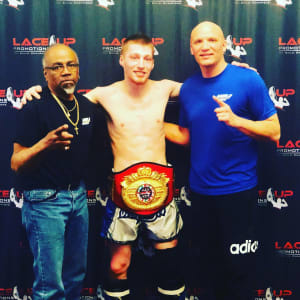 Jason Jaguar Jones Wins  Laceup Title