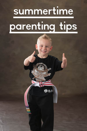 Summertime Parenting Tips