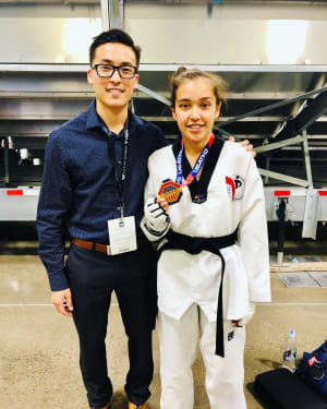 2019 Junior Taekwondo National Champion Natalie Garcia