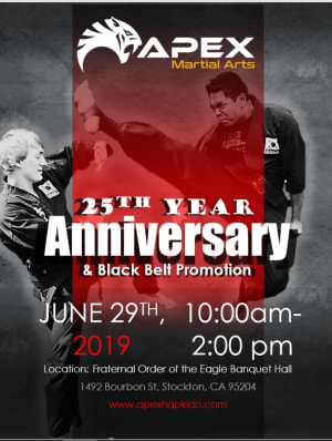 Apex Martial Arts Academy Celebrates Its 25 Year Anniversary