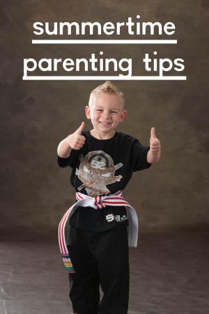 Summertime Parenting Tips