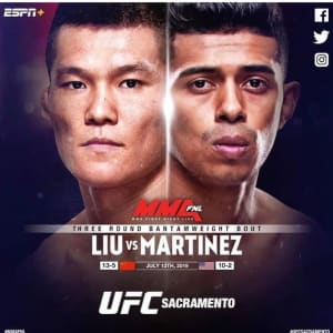 FIGHT WEEK FOR JONATHAN MARTINEZ