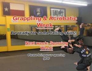 Grappling & Acrobatics Week!