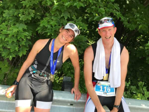 50 Plus Triumphers' Participate in Meech Lake Triathlon 2019!