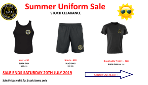 Summer Clearance Sale 2019
