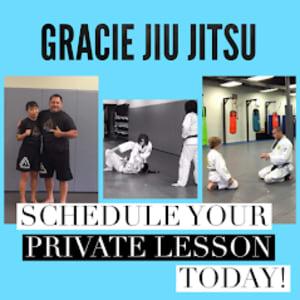 Gracie Jiu Jitsu Lessons