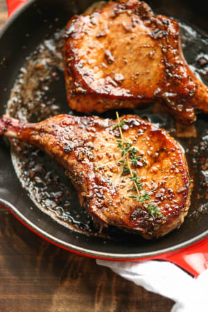 Recipe: BBQ Chops and roasted sweet tater Hobo Packs