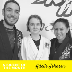 Meet Adelle Johnson - July Student of the Month