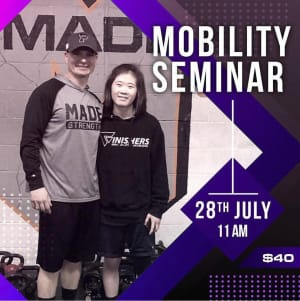 Mobility Seminar this Sunday with Craig Merrick