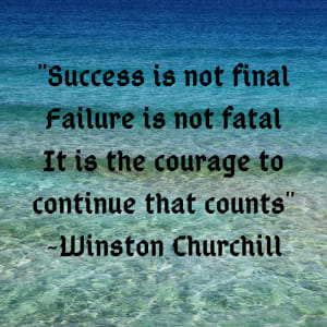 Failure is not fatal...