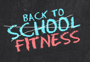 Back to your fitness with your kids back to school!!