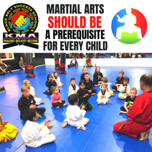 Martial arts SHOULD BE A Prerequisite for EVERY child.