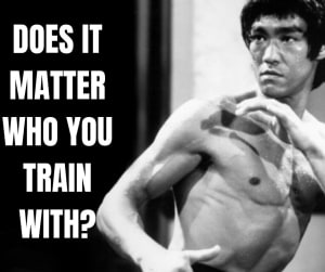 Does It Matter Who You Train With?