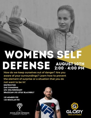 Excelsior Springs Women's Self Defense Seminar