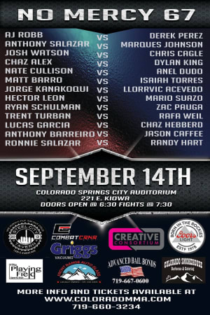 FIGHT ANNOUNCEMENT FOR RAFA, LLORRVIC AND MARIO!