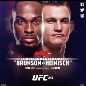 FIGHT WEEK FOR IAN HEINISCH AND DEVONTE SMITH!