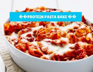 Protein Pasta Bake
