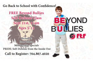 BEYOND BULLIES - Free Self-Defense Event for Kids 4-13!