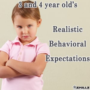 Realistic Behavior Expectations for 4 Year Olds