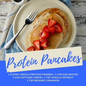 Recipe of the Week: Protein Pancakes