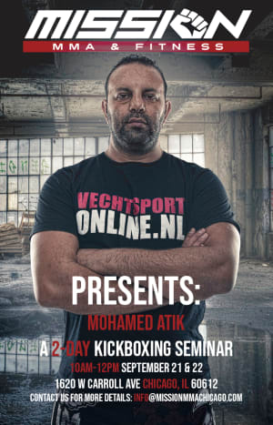 2 Days of Kickboxing with Mohamed Atik!