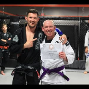 Sean Culbreth is September's Martial Arts Member of the Month