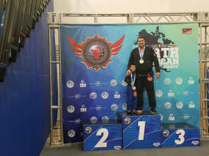 Professor Bruno competes at the NABJJF LA Open and North American Open- GOLD