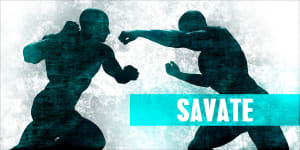 Chassé Frontal Drill for Savate Kickboxing Odenton Maryland