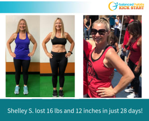 How Shelley Lost 16 Pounds and 12 Inches In Just 28 Days