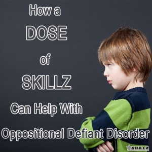 Oppositonal Defiance Disorder Help with Martial Arts