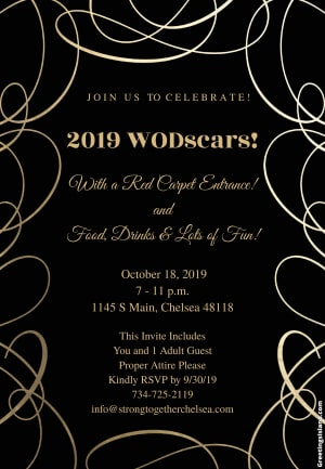 WODSCARS AWARDS!