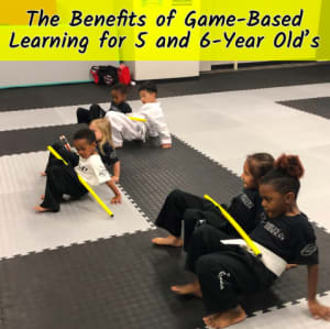 The Benefits of Game-Based Learning for 5-6 year olds