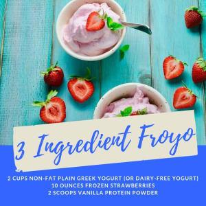 Recipe of the Week: 3 Ingredient Froyo
