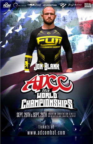 "Jon ""Thor"" Blank Makes His ADCC Debut"