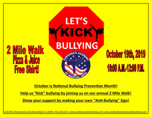 Anti Bully Walk