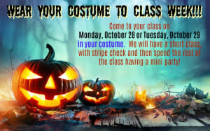 Wear Your Costume to Class Week