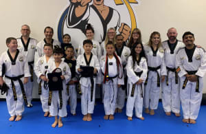Congratulations to Our Black Belt Testers