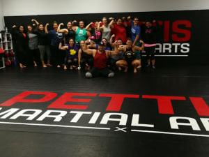 Tuesday class came to WORK!!!