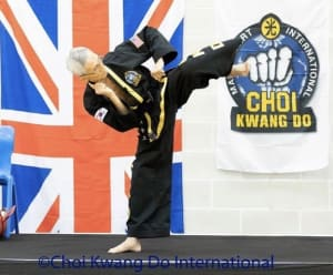 Grand Master Choi at Choi Kwang Do Summer Workshop UK 2019