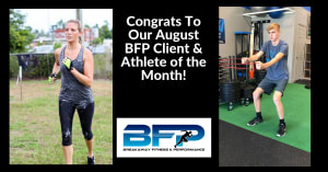August Client and Athlete Of The Month