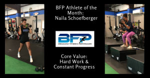 July Athlete Of The Month
