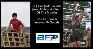 June Athlete & Client Of The Month